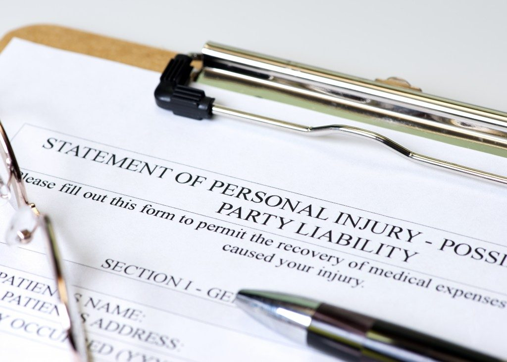 Statement of Personal Injury