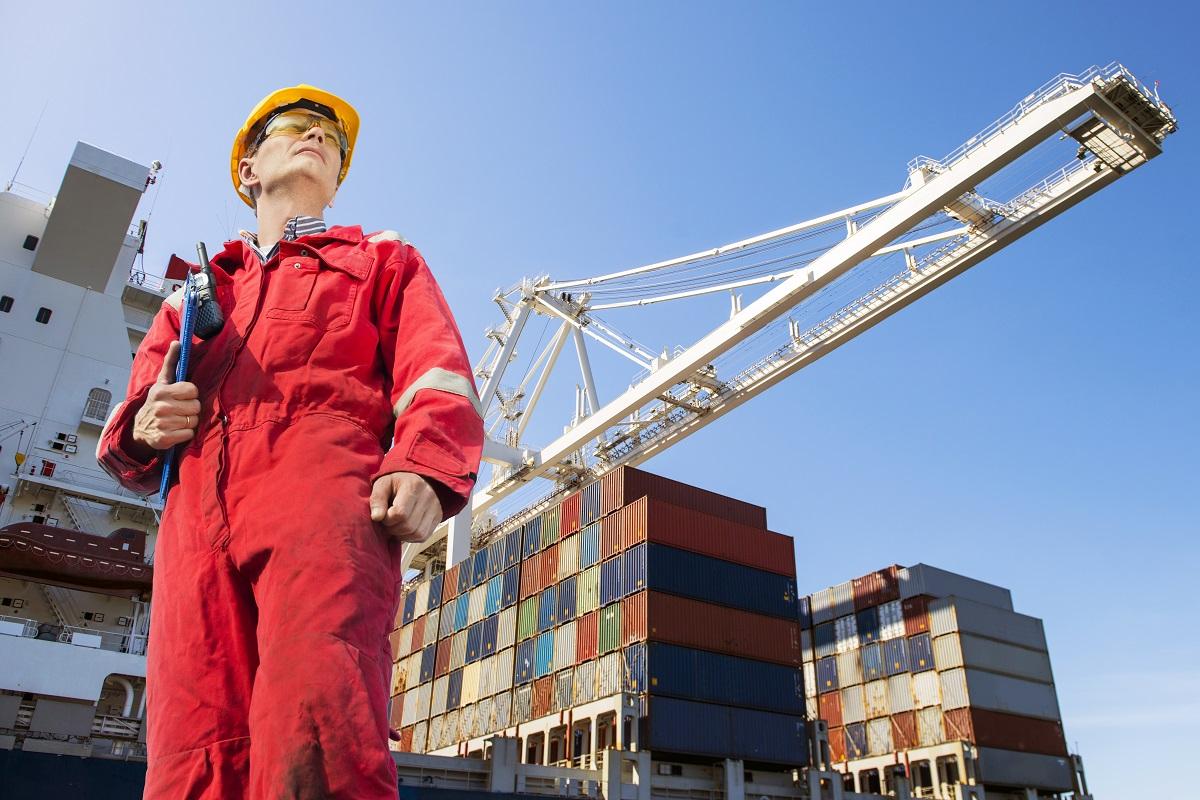man wearing red uniform