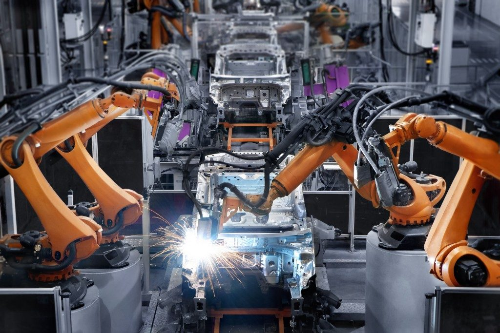 Automated car manufacturing company