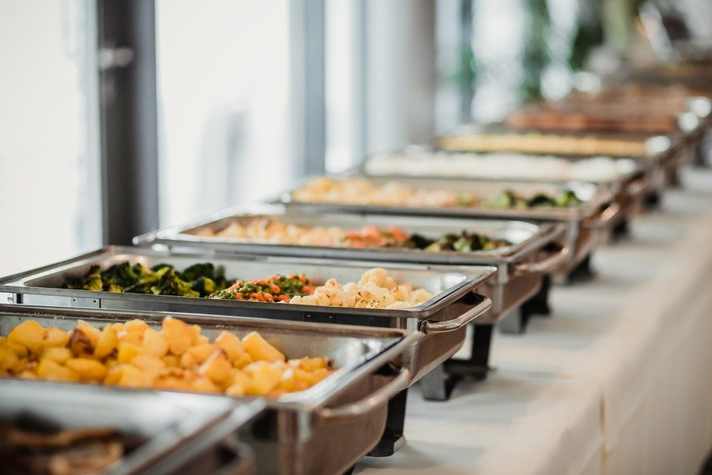 Catering food event