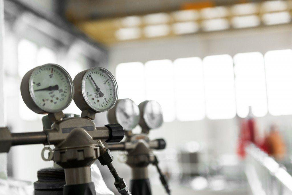 meters on a pump
