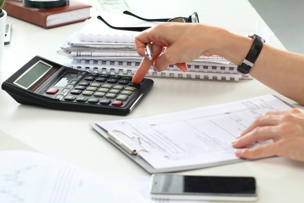 Making calculations on mortgage