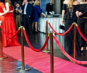 red carpet in hollywood