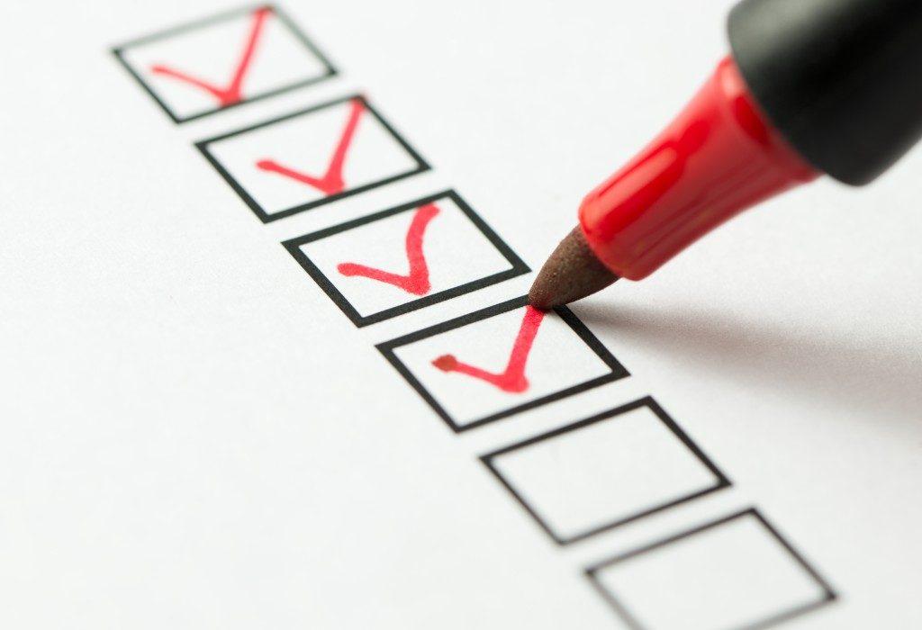 answering a survey
