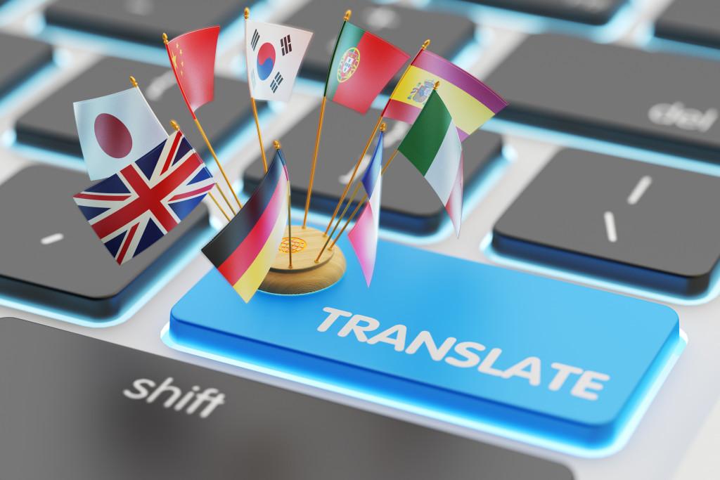 different language concept
