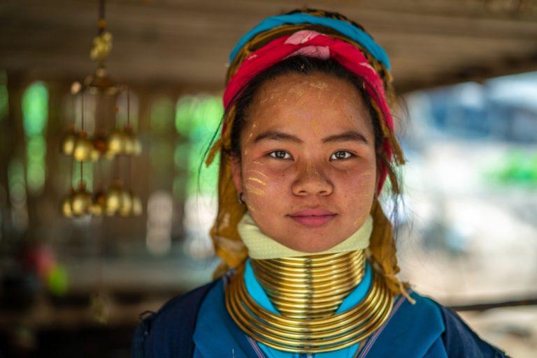 Asian female in traditional wear