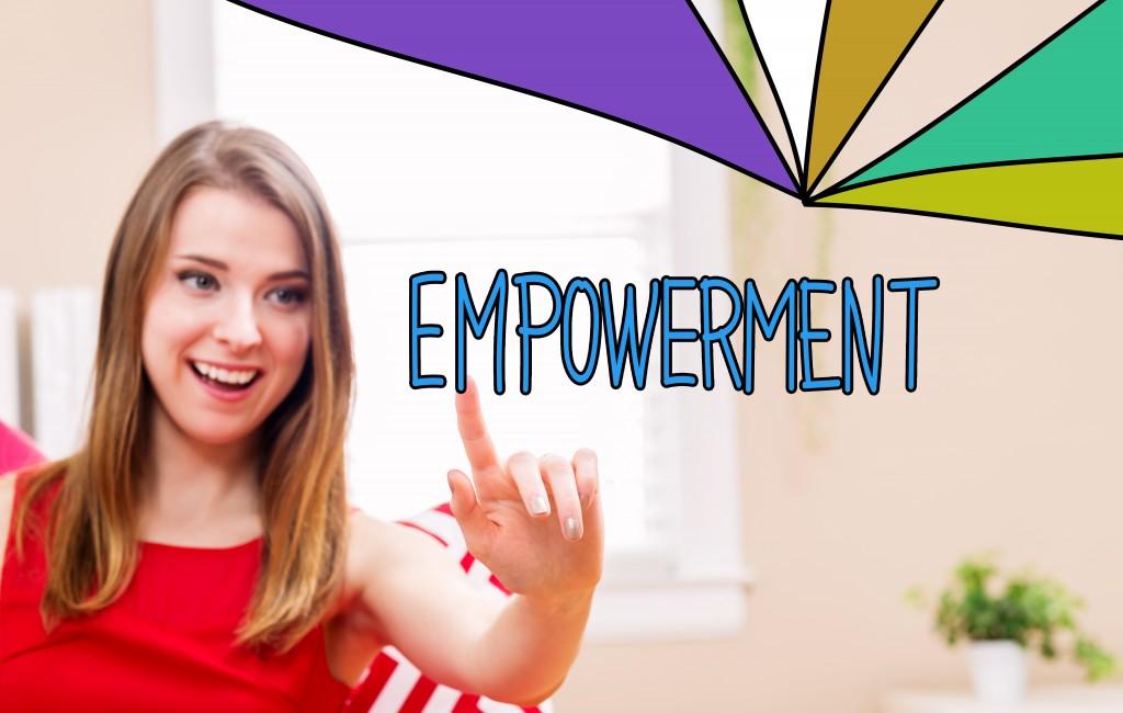 women empowerment concept