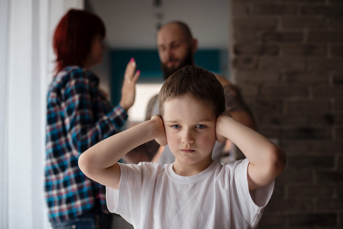 domestic violence effect on children