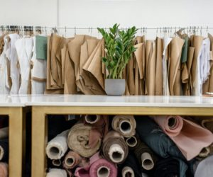 cloth rack in the business