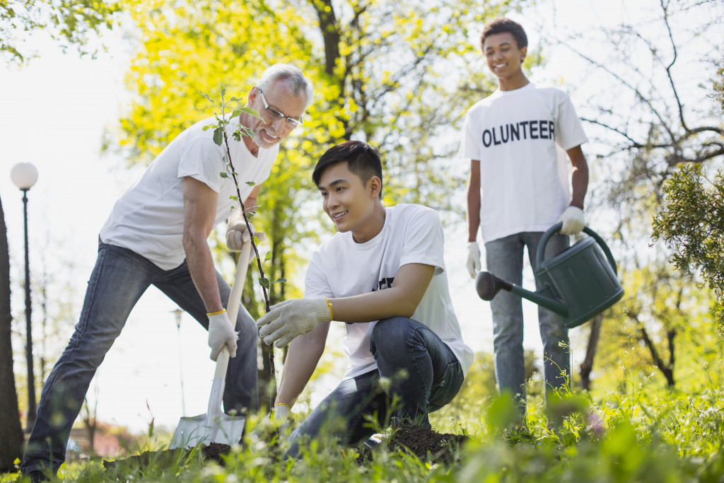 NGO volunteers